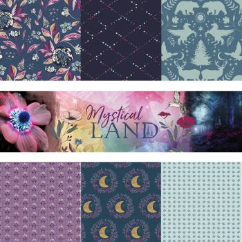 Mystical Land Iris Sparkle Fat Quarter Pack