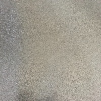 Silver Soft Glitter Vinyl Fabric A4 & A3 Sheets