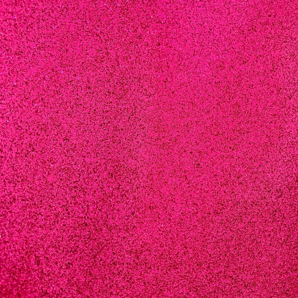 Fuchsia Soft glitter vinyl Fabric A4 & A3