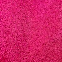 Fuchsia Soft glitter vinyl canvas