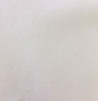 White Glitter Vinyl Canvas
