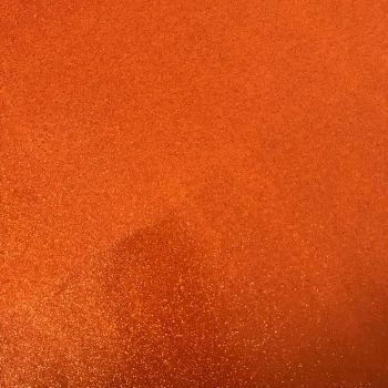 Orange Soft Glitter Vinyl Canvas