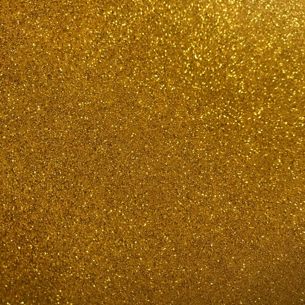 Yellow Gold Soft Glitter Vinyl Fabric A4 & A3