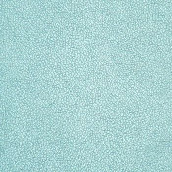 Duck Egg Blue Pearl Faux Leather