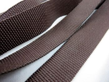 Dark Brown  Webbing Polypropylene