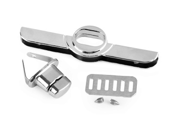 Silver handbag Twist Lock Set