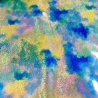 Blue Marble Sparkle Glitter Vinyl