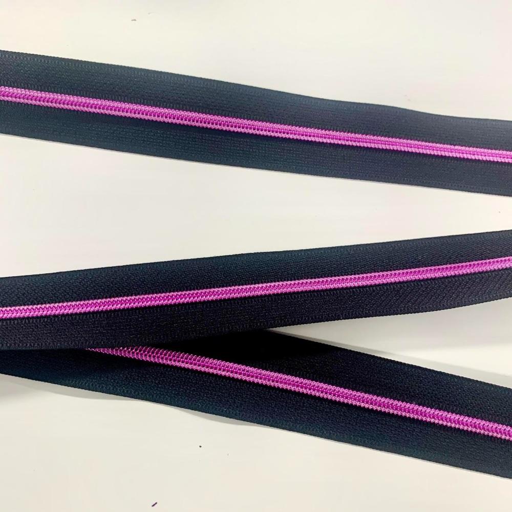 Pink Nylon Continuous Zipper Size 3