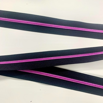 Pink Nylon Continuous Zipper Size 3 or 5