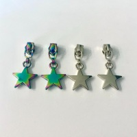 Star no.3 Zipper Pulls