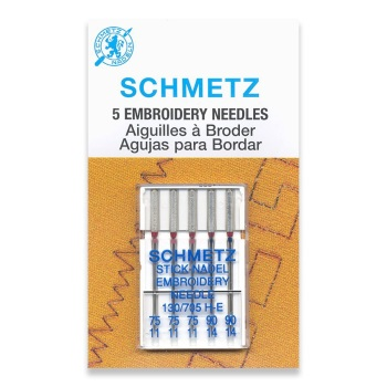 Schmetz Embroidery needle 75/90