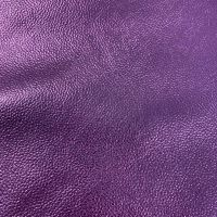 Purple Metallic Faux Leather