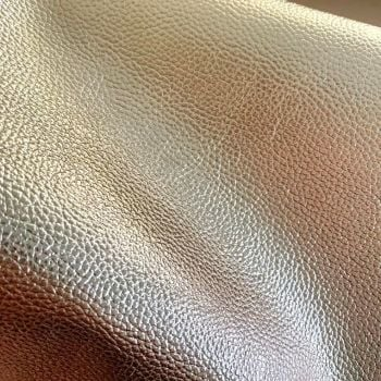Rose gold Metallic Faux Leather