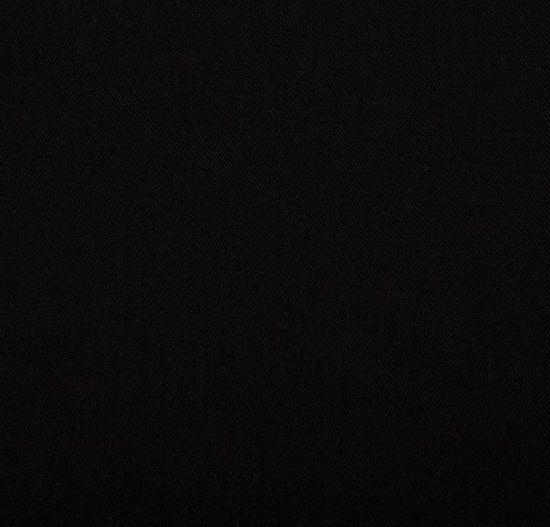 Black Polyester twill