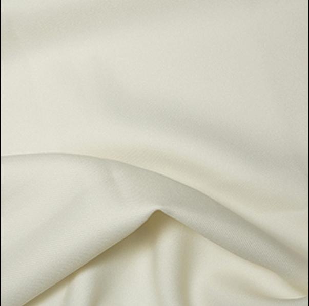 Cream Polyester Twill