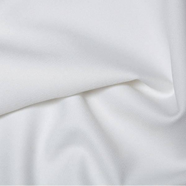 White Polyester Twill