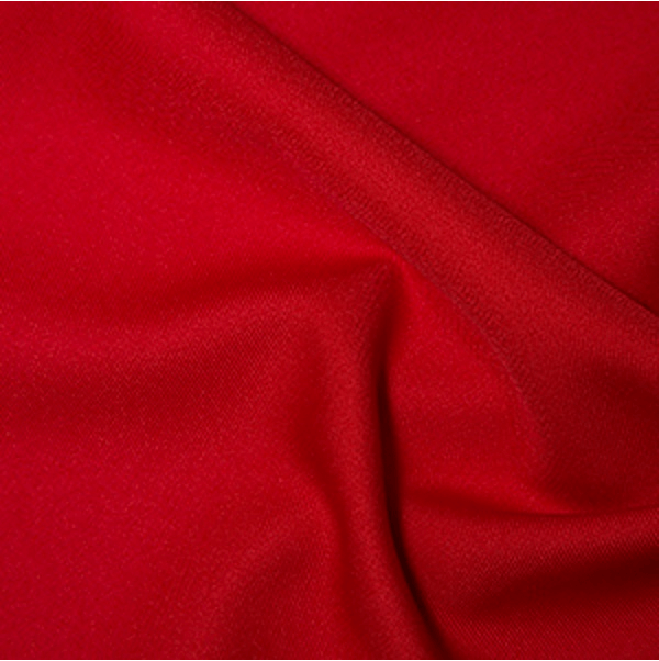 Red Polyester Twill