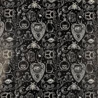 Occult Printed Faux Leather