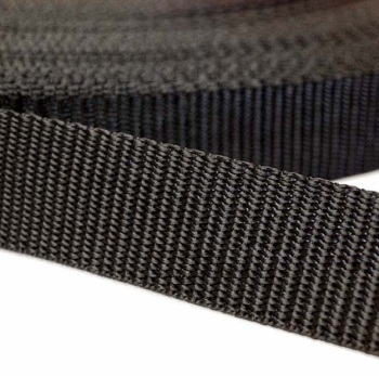 Black Webbing Poly