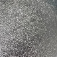 Cloudy Sky Metallic Faux Leather