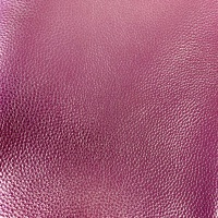 Metallic Pink Faux Leather