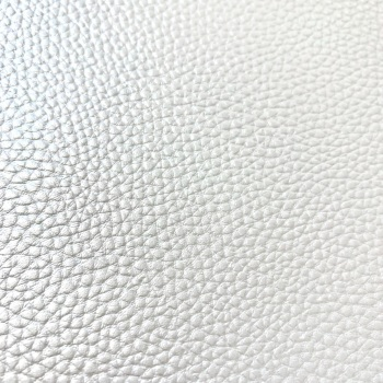 Pearly White Faux Leather