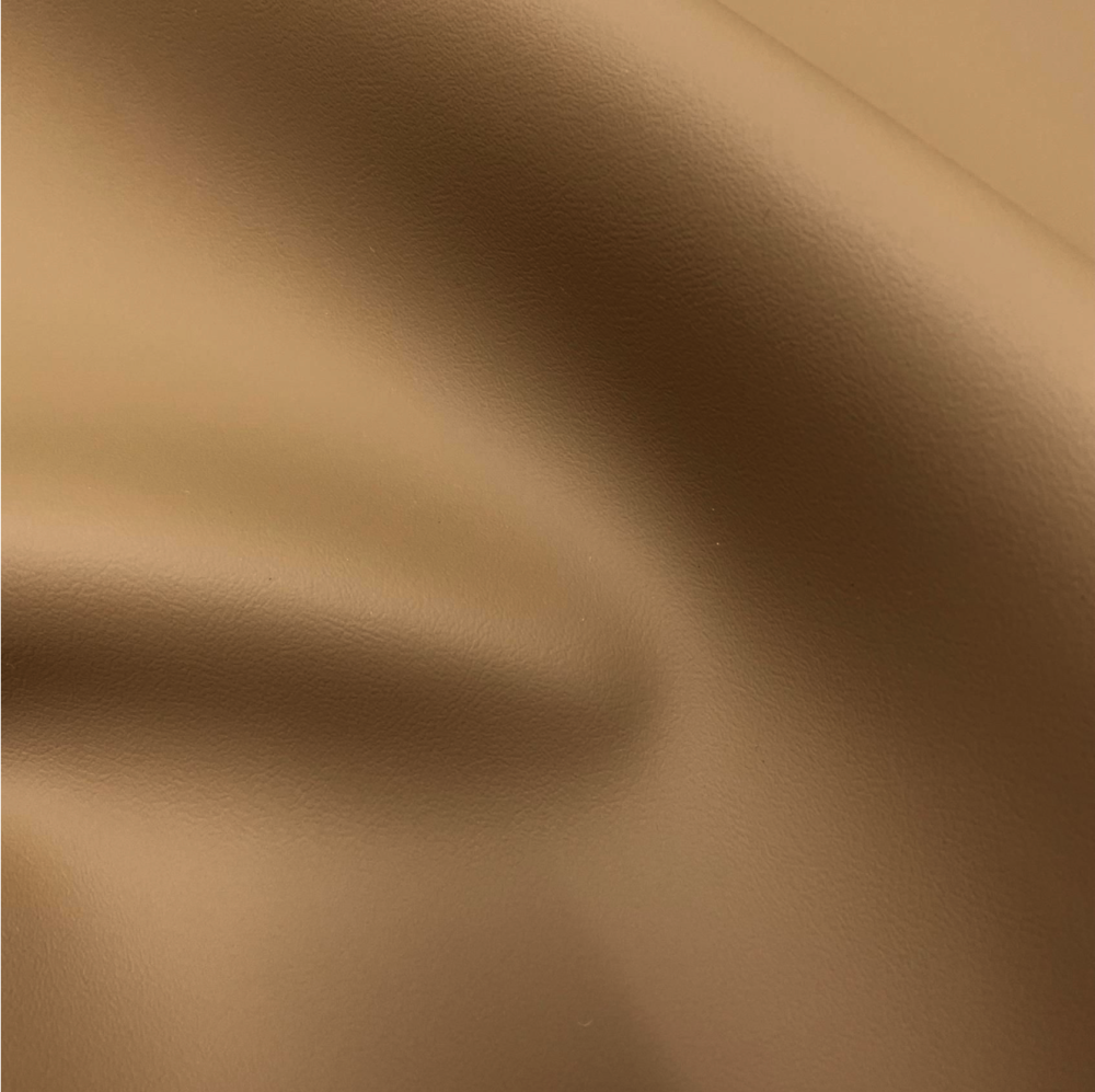 Tan Smooth Faux leather