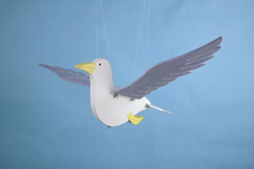 Hanging Seagull
