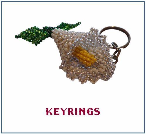 Beaded Keyrings