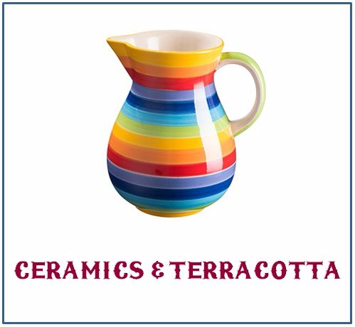 Handpainted Ceramics and Terracotta