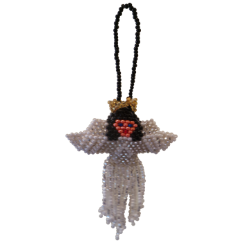 Angel Beaded Christmas Tree Decoration