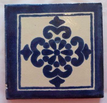 Handmade Terracotta Tile Coaster - M24