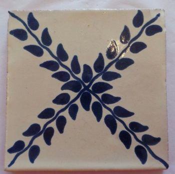 Handmade Terracotta Tile Coaster - M27