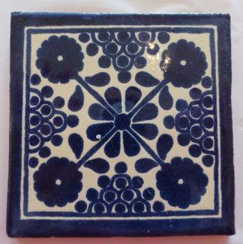 Handmade Terracotta Tile Coaster - M33