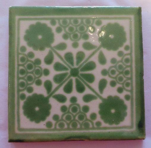 Handmade Terracotta Tile - M34