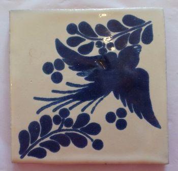 Handmade Terracotta Tile Coaster - M46