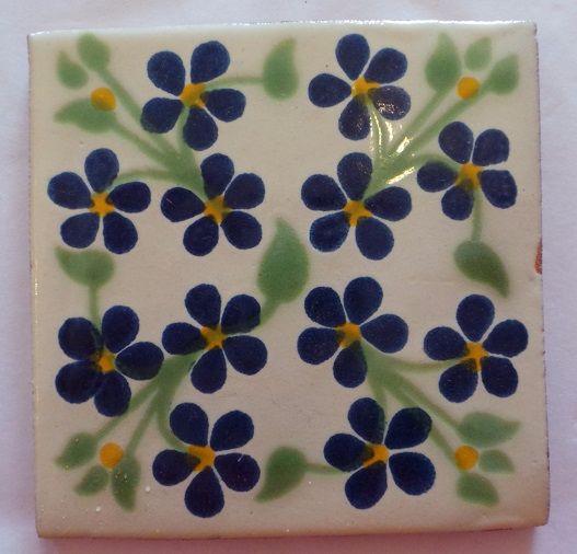 Handmade Terracotta Tile - M40