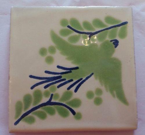 Handmade Terracotta Tile Coaster - M47