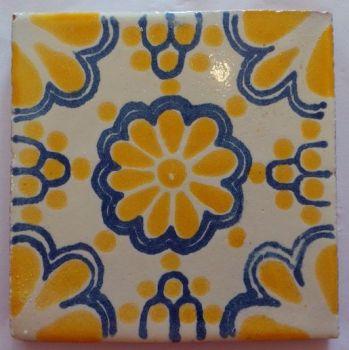 Handmade Terracotta Tile Coaster - M50