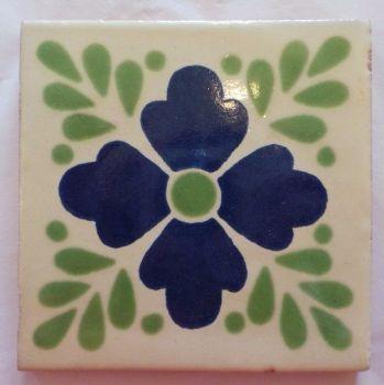 Handmade Terracotta Tile Coaster - M59.5