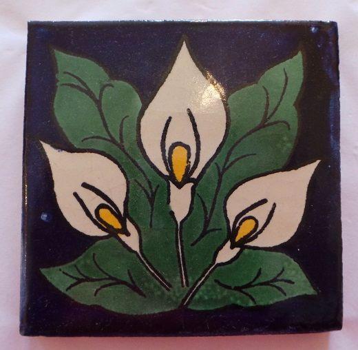 Handmade Terracotta Tile Coaster - T21