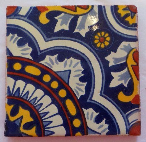 Handmade Terracotta Tile Coaster - T22