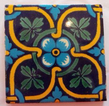 Handmade Terracotta Tile Coaster - T25