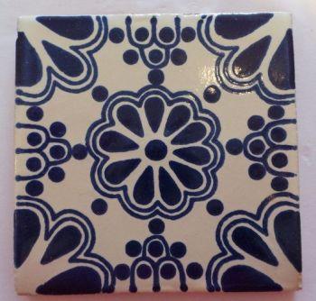 Handmade Terracotta Tile Coaster - T27