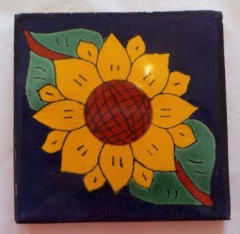 Handmade Terracotta Tile Coaster - T3