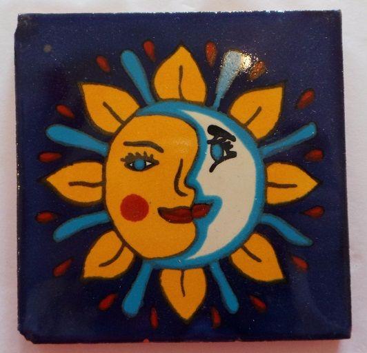 Handmade Terracotta Tile Coaster - T8