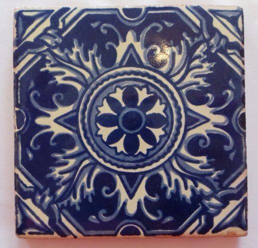Handmade Terracotta Tile v - T29