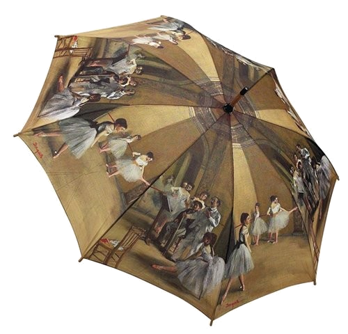 Degas Ballet Lesson Umbrella