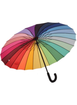 Everyday Rainbow Umbrella