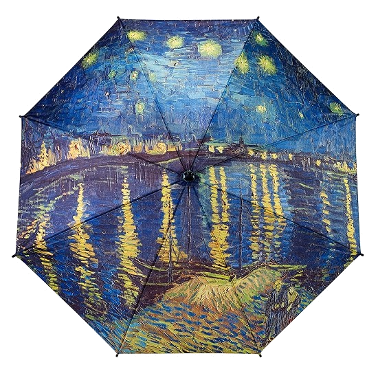 Van Gogh Over the Rhone Umbrella
